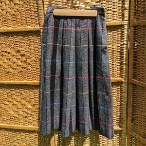 Vtg Wool Skirt